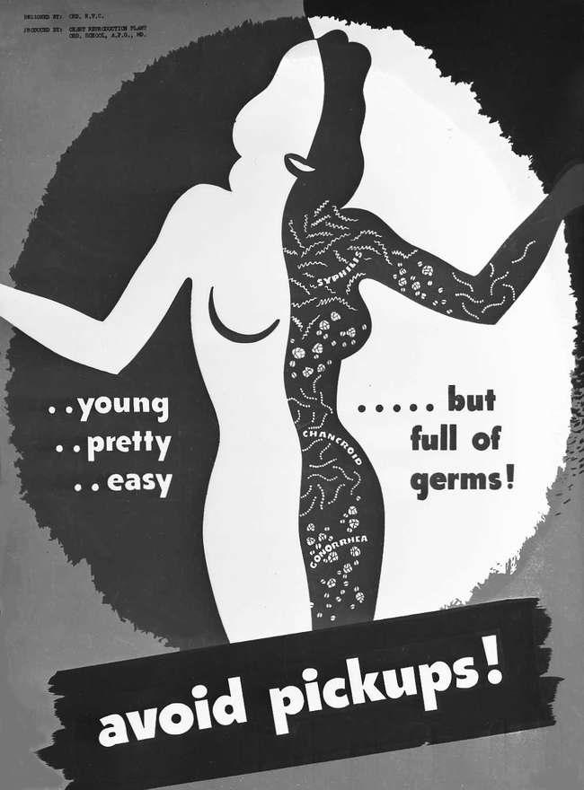 Молода, прекрасна, легка ... Но полна заразных микробов! Избегайте случайных половых связей