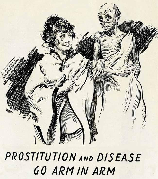 Проституция и заразные заболевания всегда идут рука об руку