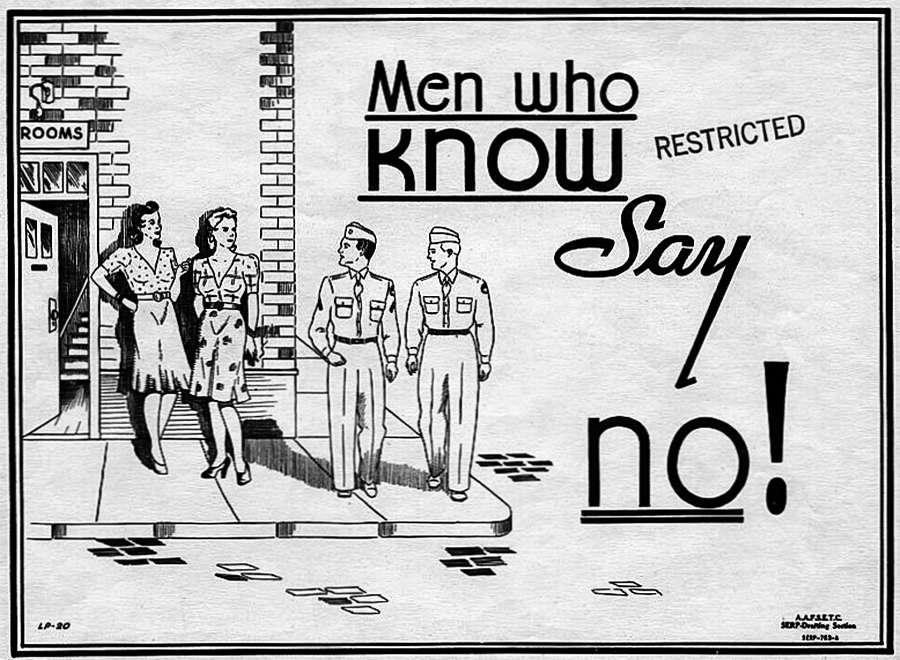 Мужчины, которые знают, говорят проституткам Нет