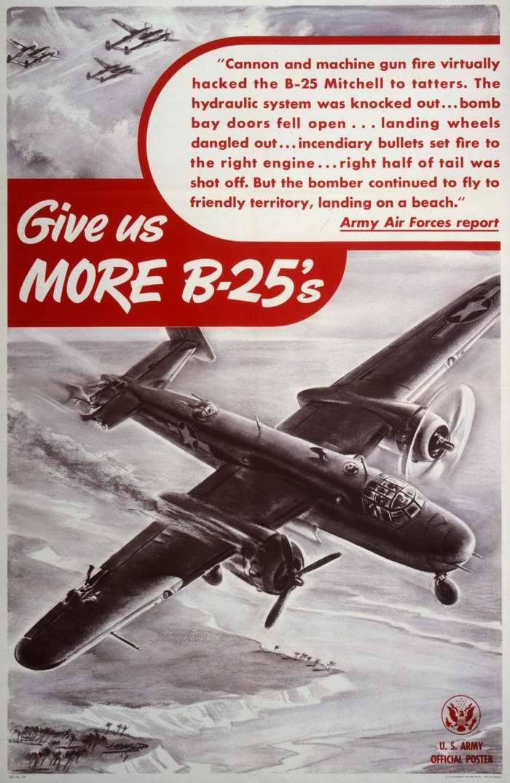 Дайте нам больше бомбардировщиков B-25