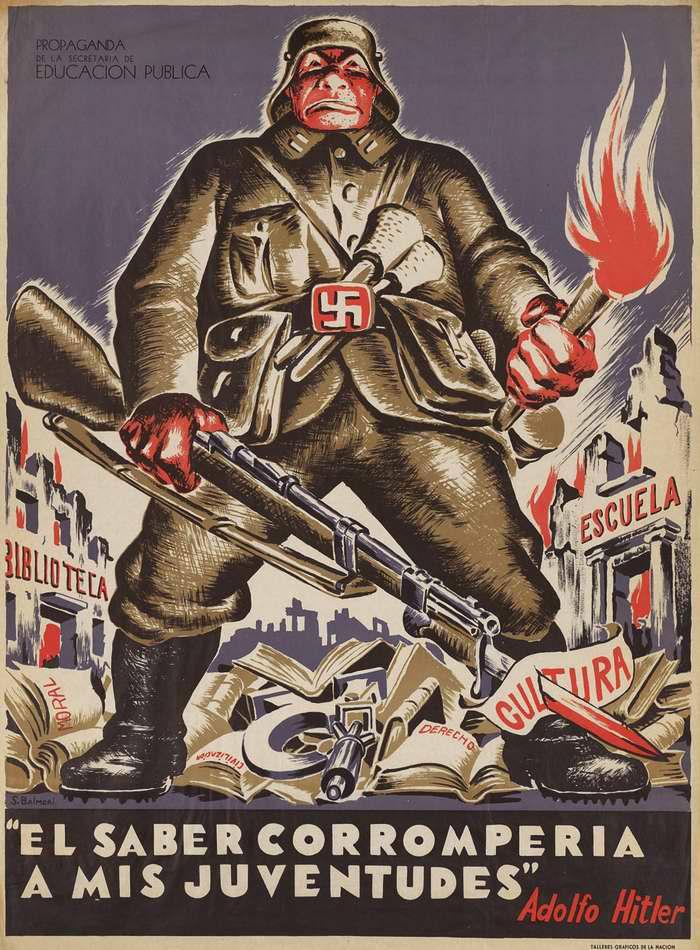 Излишние знания уродуют сознание молодежи - Адольф Гитлер