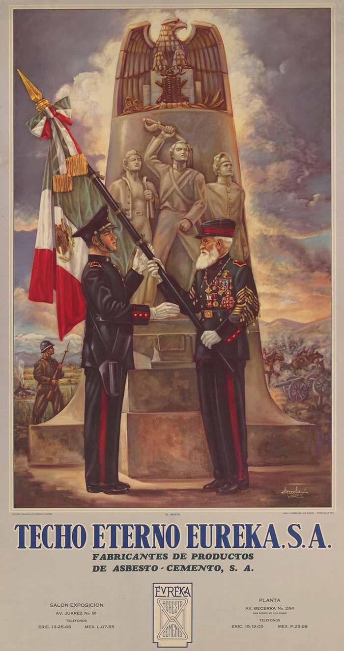 Из рук в руки! (Плакат мексиканской компании Techo Eterno Eureka)