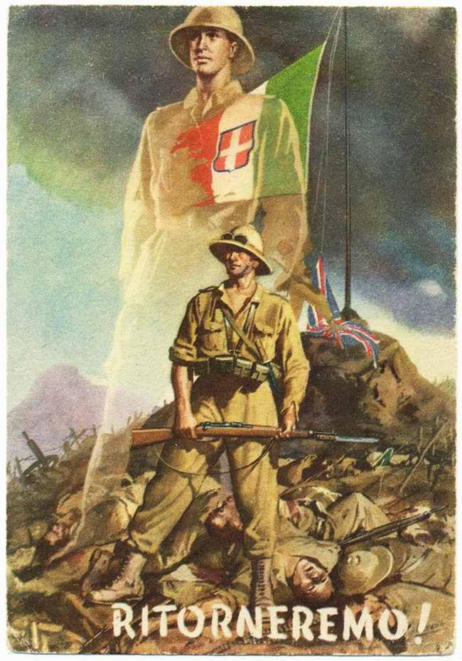 Возврат Италии британских колоний в Северной Африке