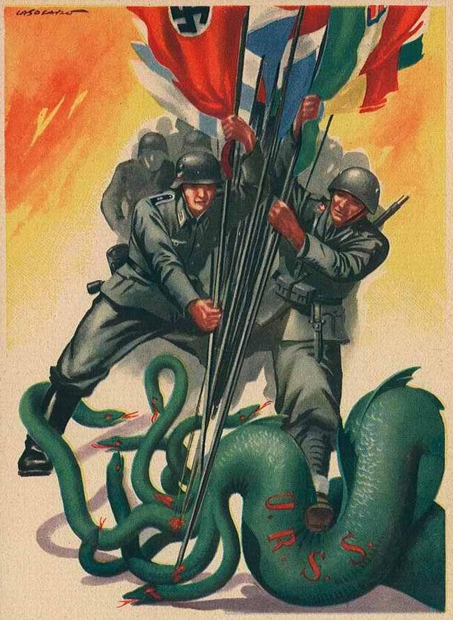 Сообща прикончим многоголовую советско-большевистскую гидру