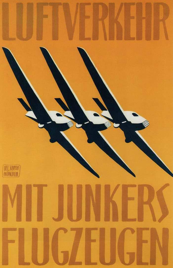Воздушные перевозки самолетами Юнкерс