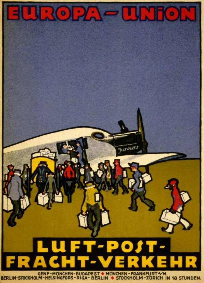 Авиакомпания Europa Union - почтовые и грузовые авиаперевозки