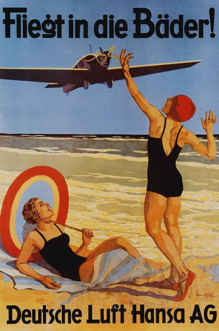 Летайте на купальные курорты самолетами немецкой Lufthansa