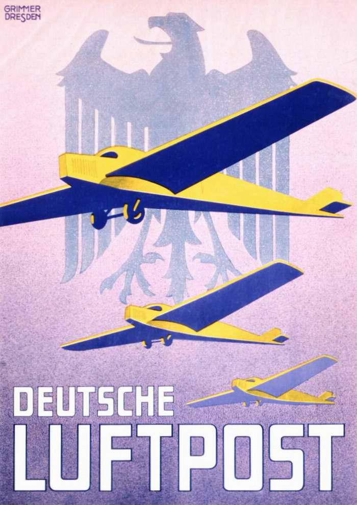 Немецкая авиапочта (1930 год)