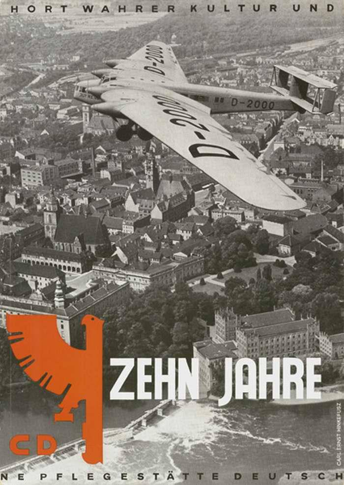 Агитационный перелет над городами Германии (1932 год)
