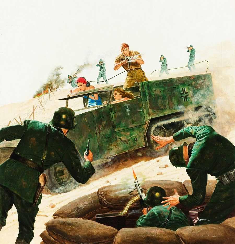 Рисунок художника Георга Гросса (George Gross)