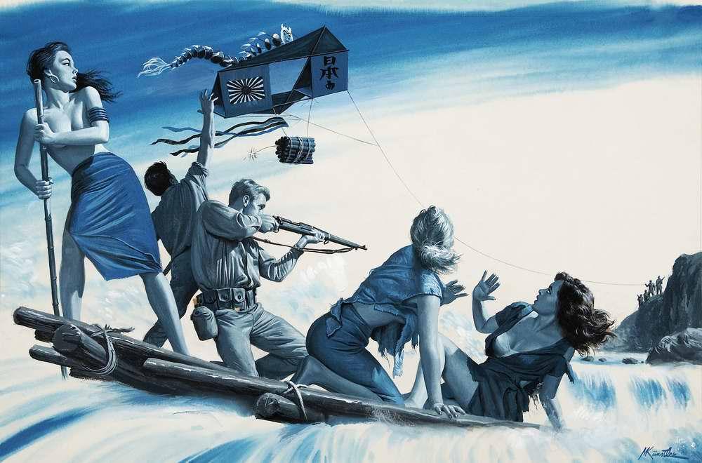 Рисунок художника Морта Кюнстлера (Mort Kunstler) (6)
