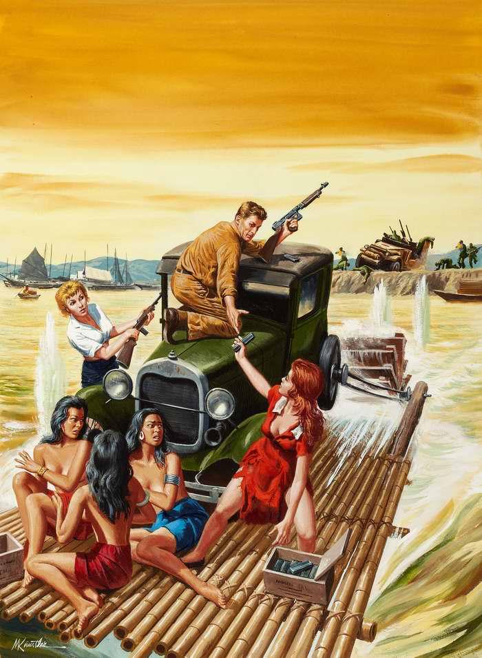Рисунок художника Морта Кюнстлера (Mort Kunstler) (9)