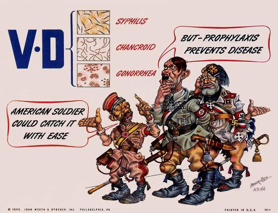 Американские солдаты могут заражаться этими венерическими заболеваниями. Но они занимаются их профилактикой