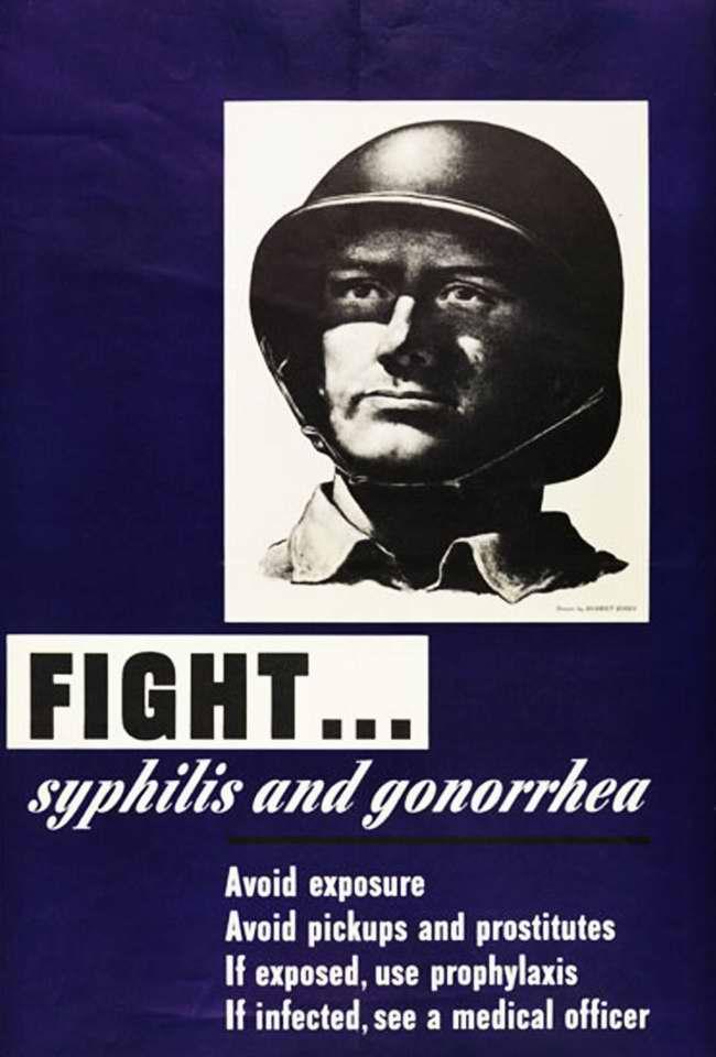 Остановим распространение сифилиса и гонореи