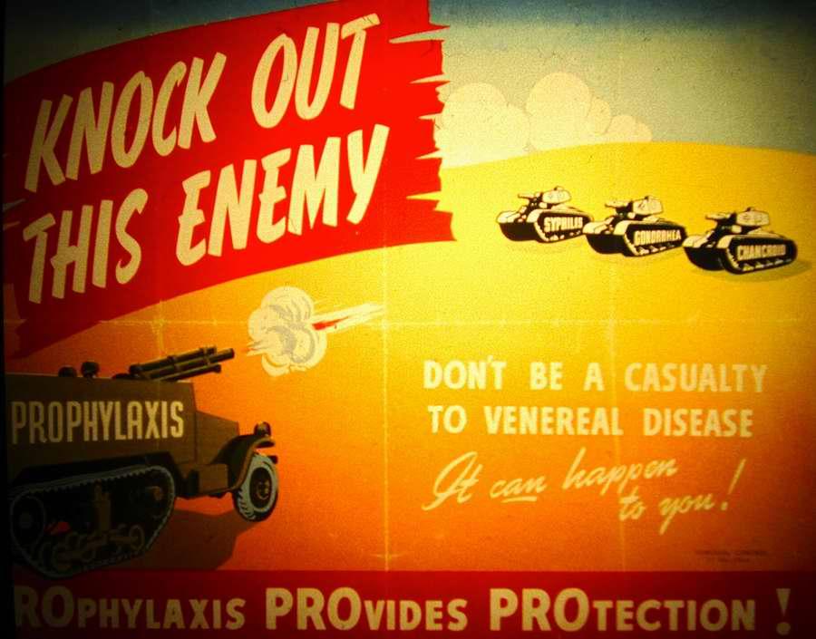 Профилактикой уничтожим этого врага. Не будем становиться жертвами венерических заболеваний