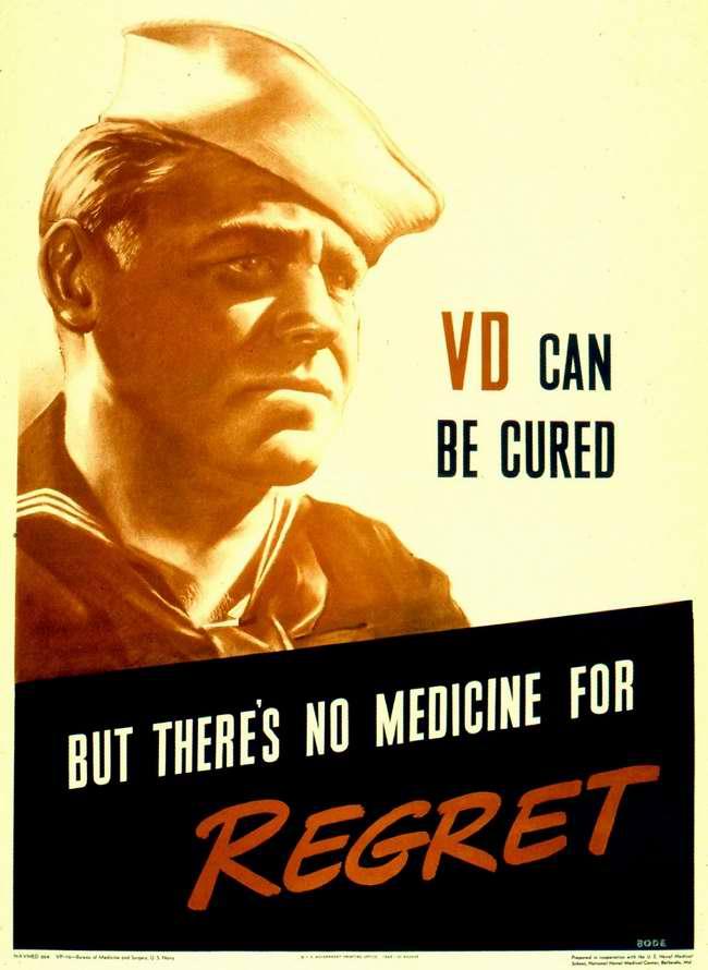 Венерические заболевания можно вылечить. Но нет никаких лекарств, которые могли бы заглушить возникающее чувство сожаления за свою прежнюю беспечность