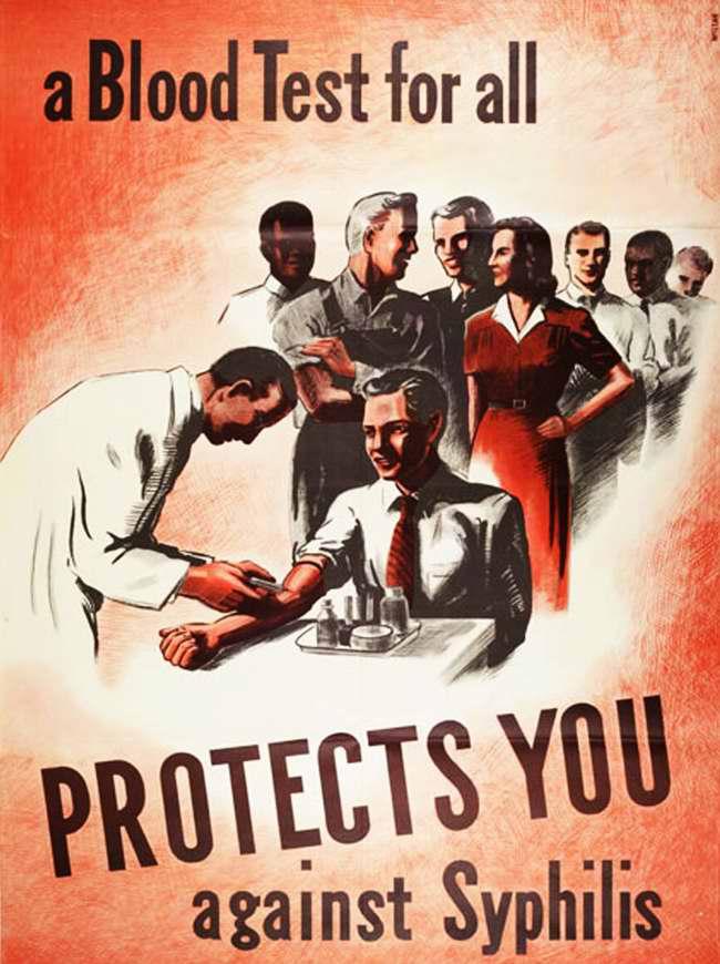 Обязательный анализ крови для всех способен защитить тебя от сифилиса