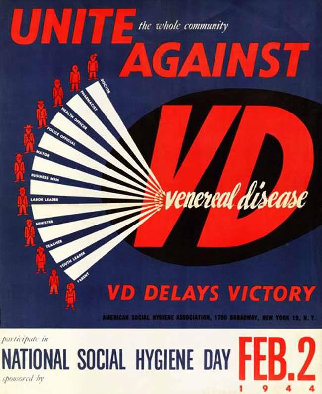 Сообща объединимся против венерических заболеваний. Венерические заболевания задерживают наступление победы