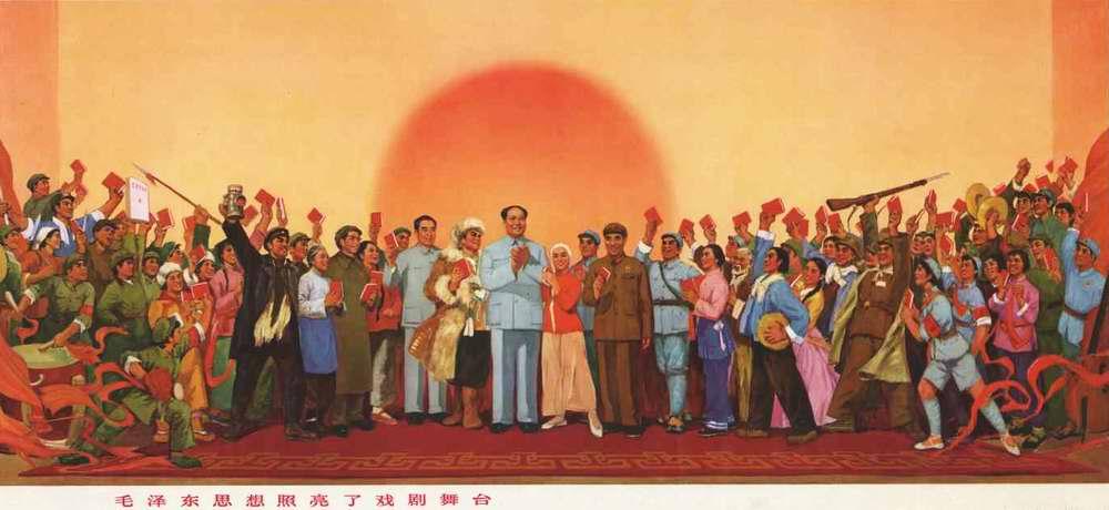 Идей Мао Цзэдуна загораются на театральной сцене