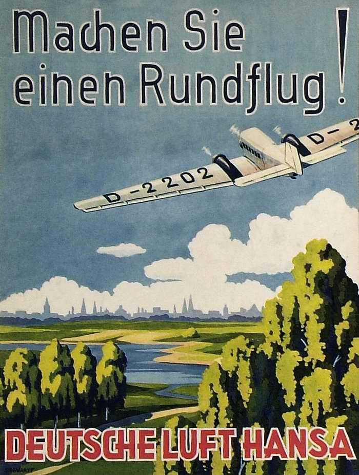 Авиакомпания Lufthansa - отправляйтесь с нами в полет