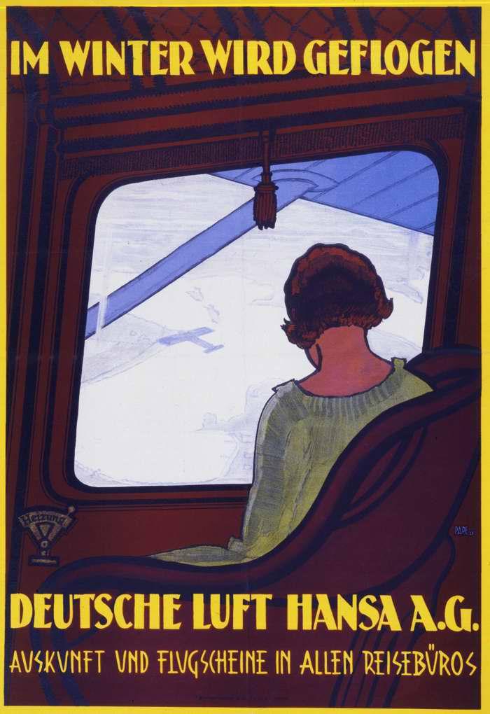 Зимой летайте с авиакомпанией Lufthansa