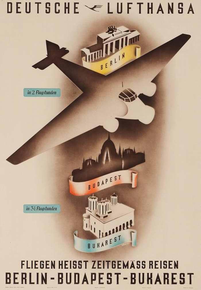 Перемещайтесь быстро с авиакомпанией Lufthansa. Из Берлина до Будапешта - за 2 часа, до Бухареста - за 3 часа