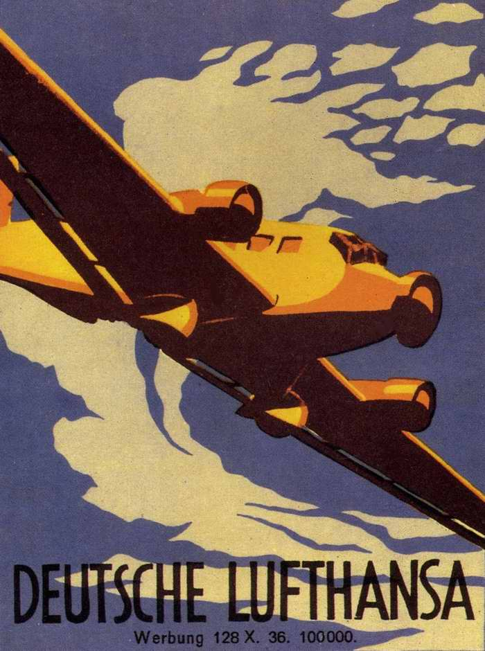 Немецкая Lufthansa (1936 год)