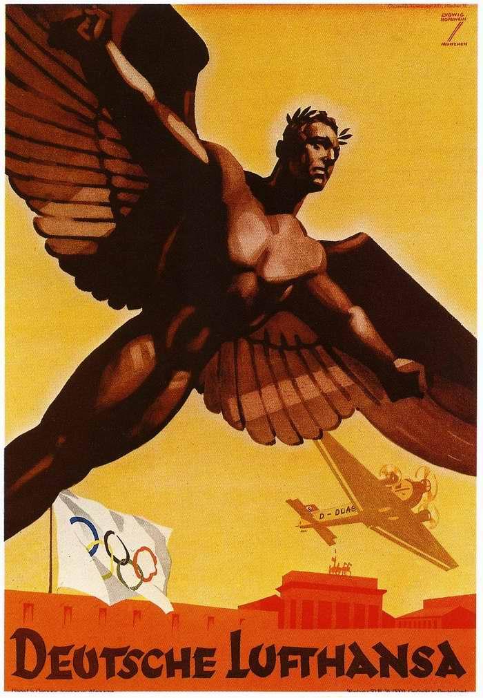 На Берлинскую Олимпиаду с немецкой Lufthansa