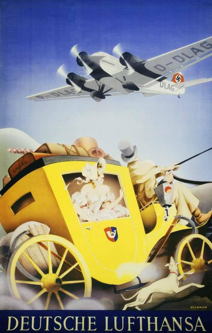 Немецкая Lufthansa - Из прошлого в будущее