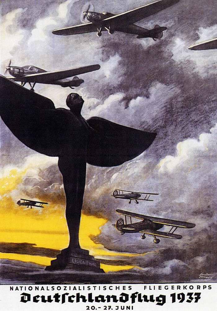 Национал-социалистический летный корпус - германский авиационный праздник в июне 1937 года