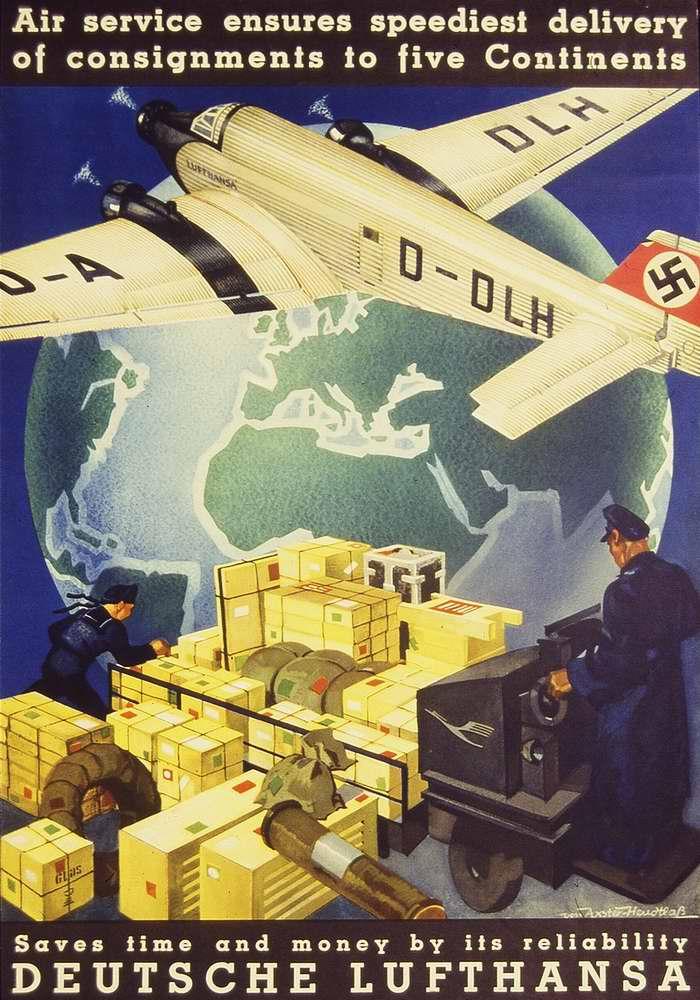 Гарантируем быструю доставку грузов между 5-ю континентами. Экономьте время и деньги с авиакомпанией Lufthansa