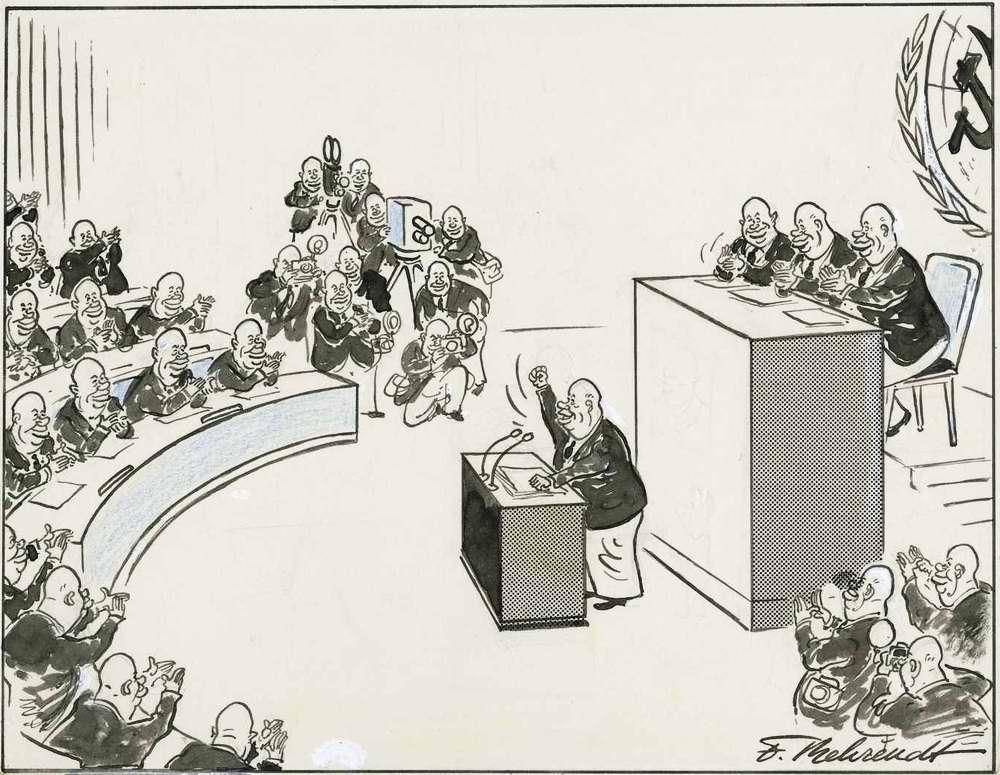 Фирменный способ решения советским лидером Хрущевым своих внутрипартийных проблем