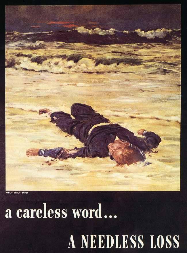 Неосторожное слово ... Потонувший корабль