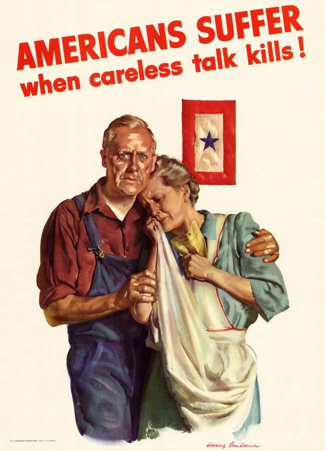 Американцы страдают, когда неосторожные разговоры убивают их близких!