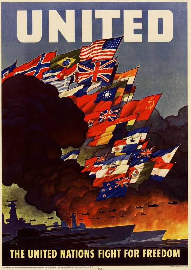 Сообща! Объединенные нации борются за свободу (США)