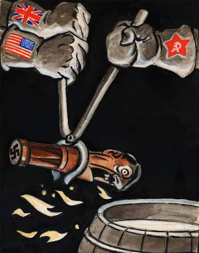 Союзники взяли Гитлера в клещи