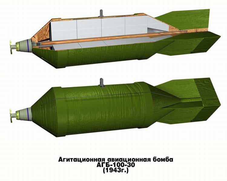 Агитационная авиабомба АГБ-100-30