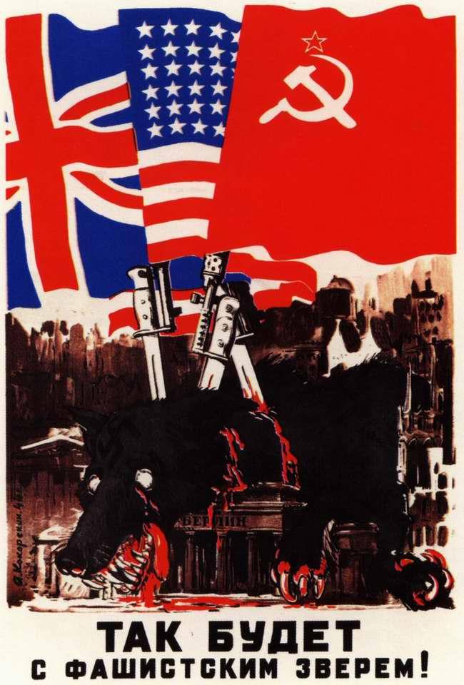 Так будет с фашистским зверем! (1944 год)