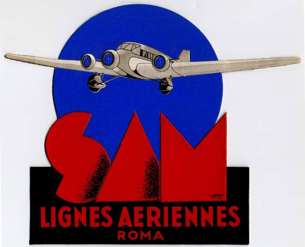 Авиакомпания Societa Aerea Mediterranea (1929 год)