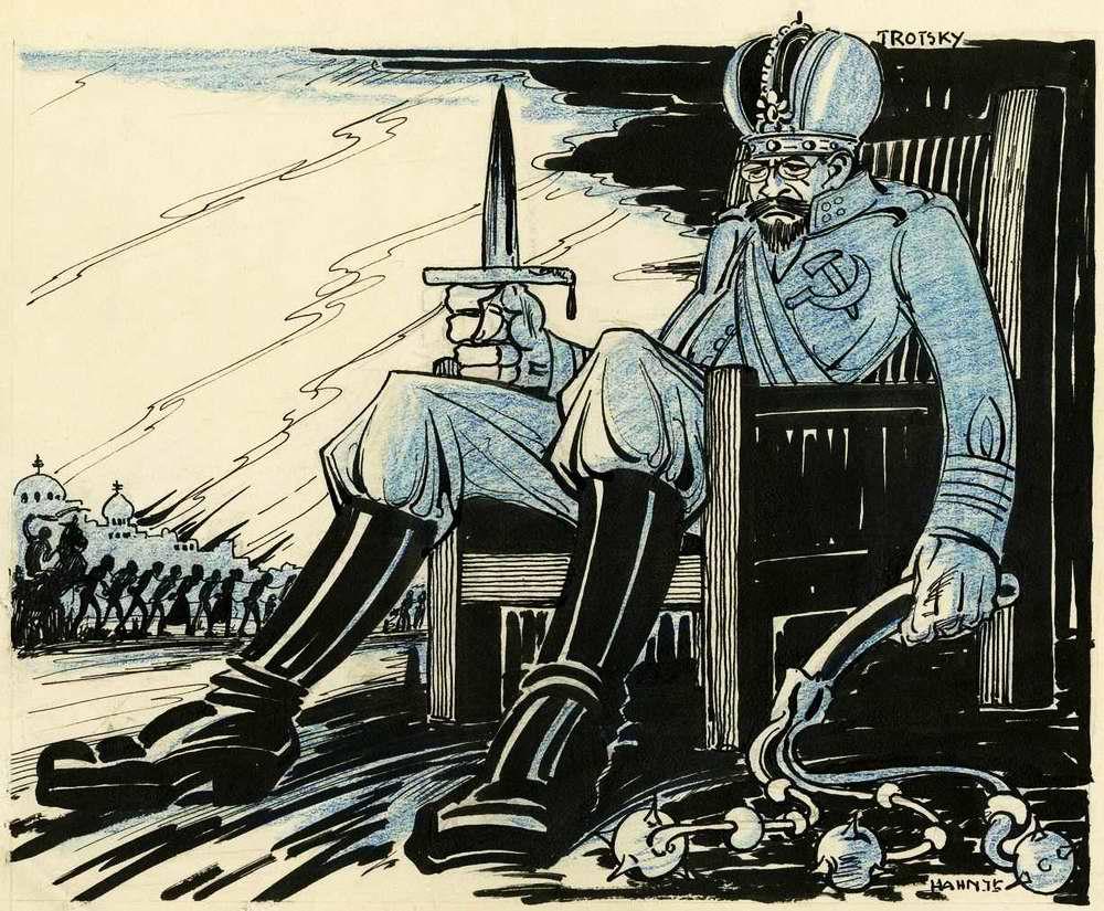 Троцкий - у нас в стране царем является Сила и если она допускает возможность убийств, то это не слишком много от того, о чем ее просили большевики