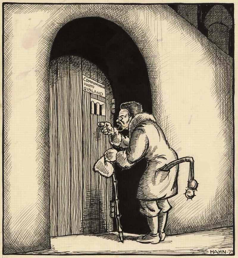 Троцкий пытается достучаться в ЦК ВКП(б) из алма-атинской ссылки (Нидерланды, 1929 год)