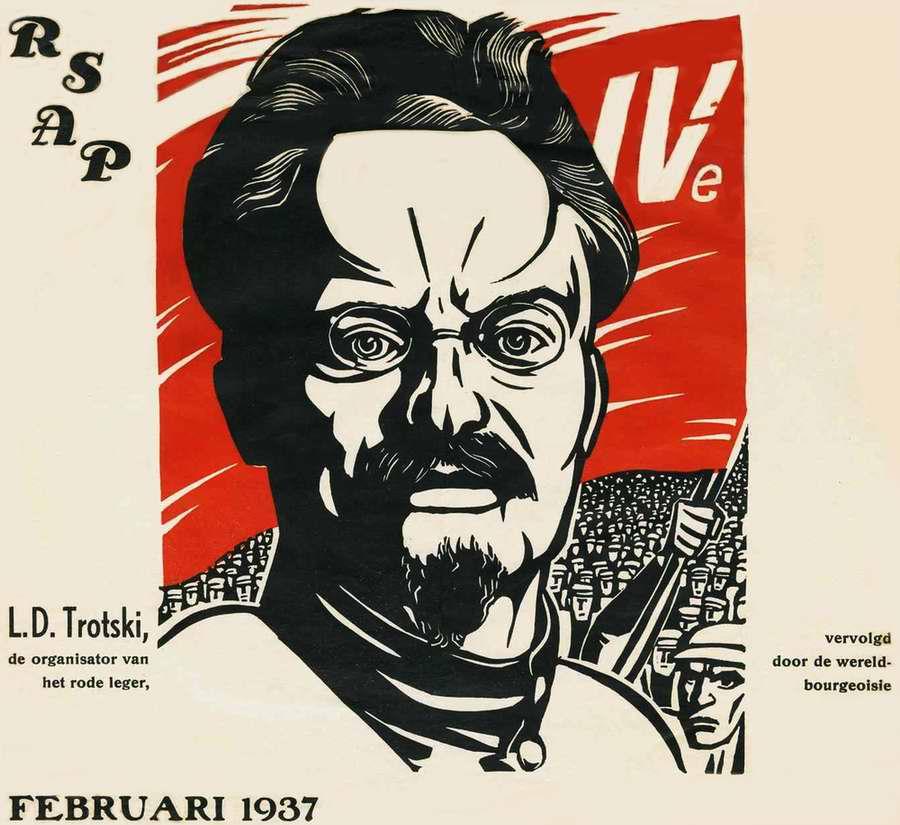 Лев Троцкий - организатор Красной Армии, который оказался подвергнутым преследованиям со стороны мировой буржуазии