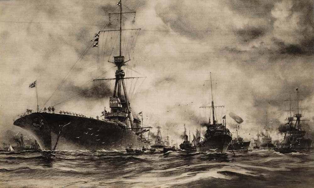 Корабли британского военного флота