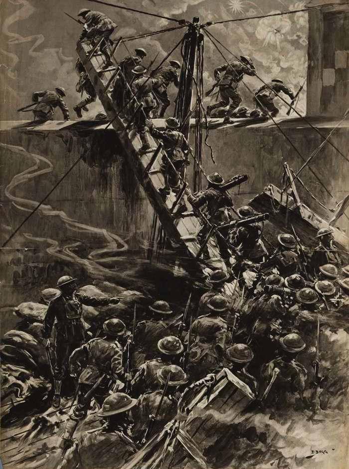 Рейд британского морского десанта на Зебрюгге в Бельгии