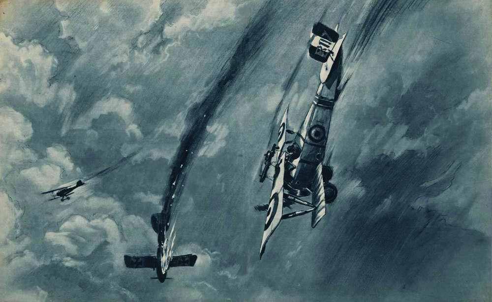 Британские летчики побеждают германских