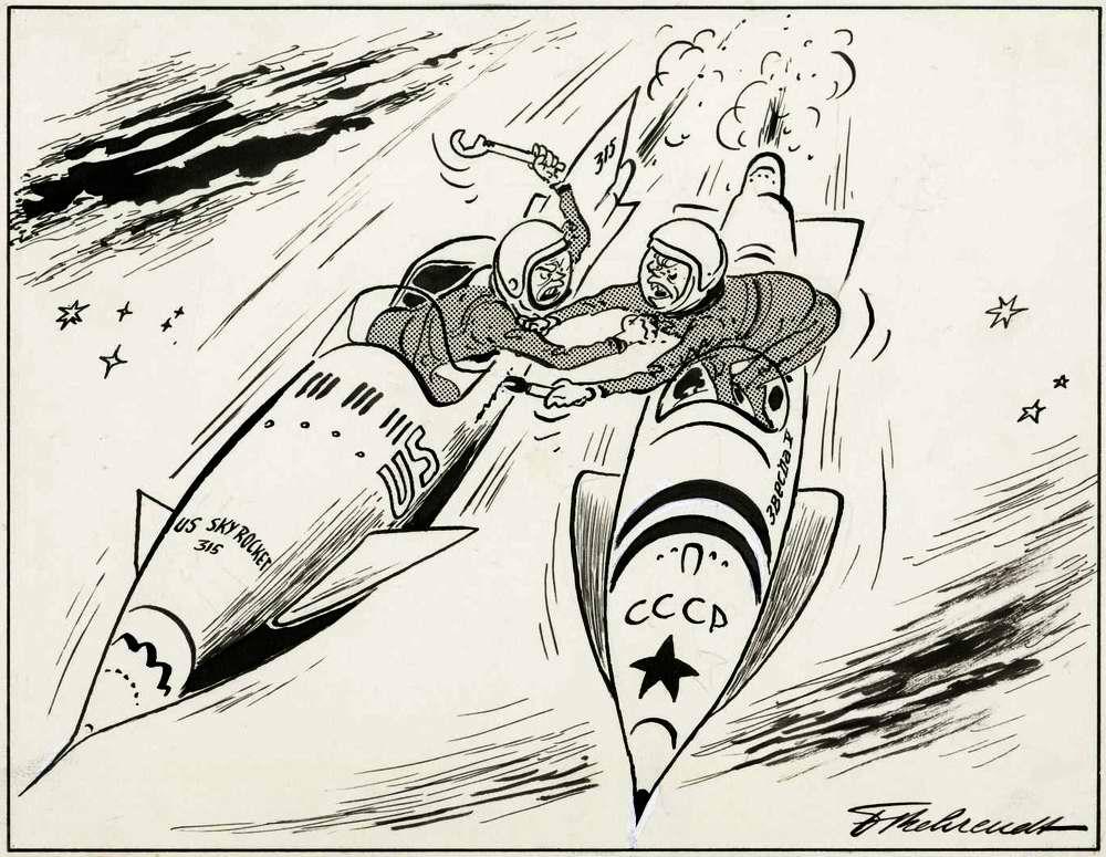 Противостояние в космосе между Востоком и Западом (1962 год)