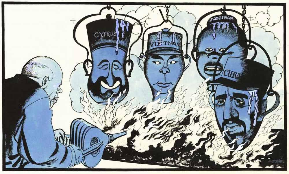 Никита Хрущев, как разжигатель региональных войн и революционных конфликтов