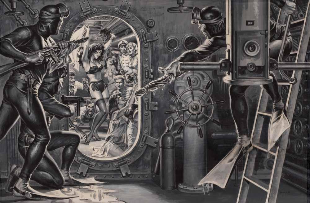 Рисунок художника Earl Norem (2)