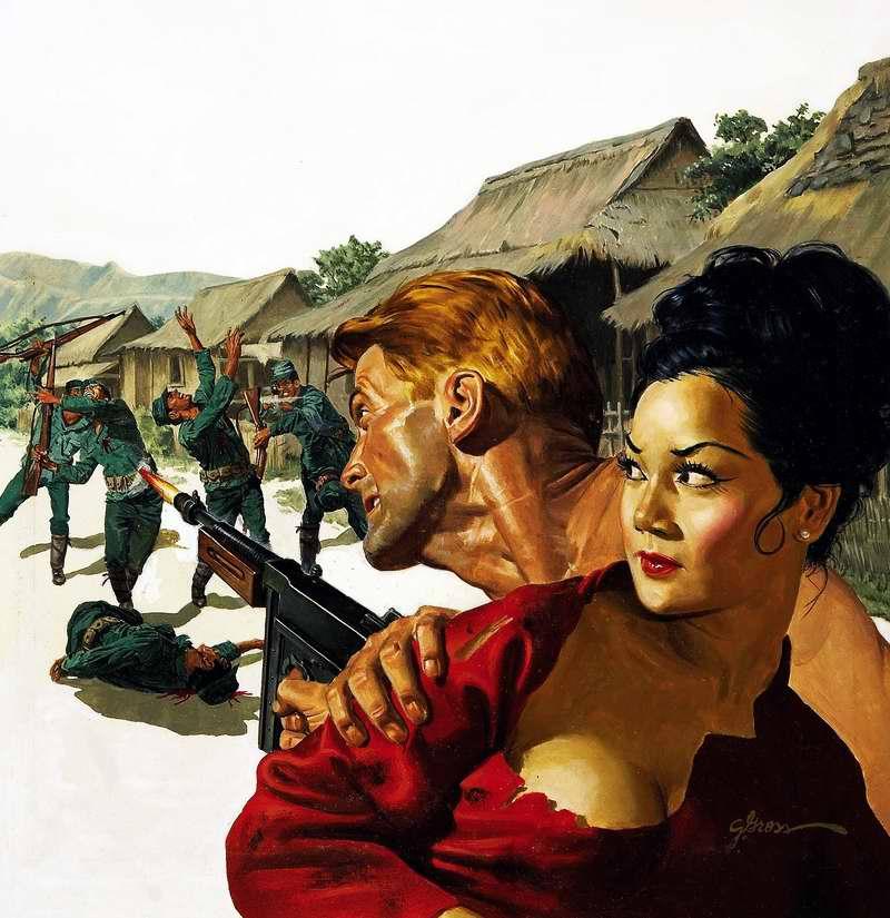Рисунок художника George Gross