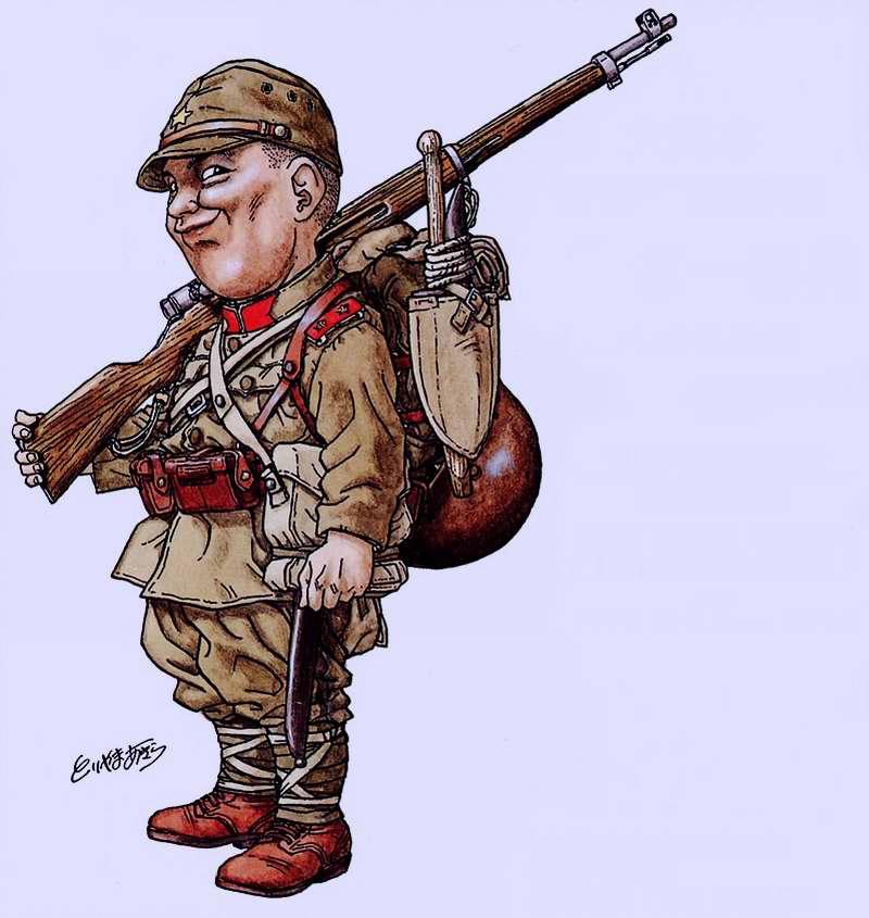 Я мировая война япония рядовой 1 го